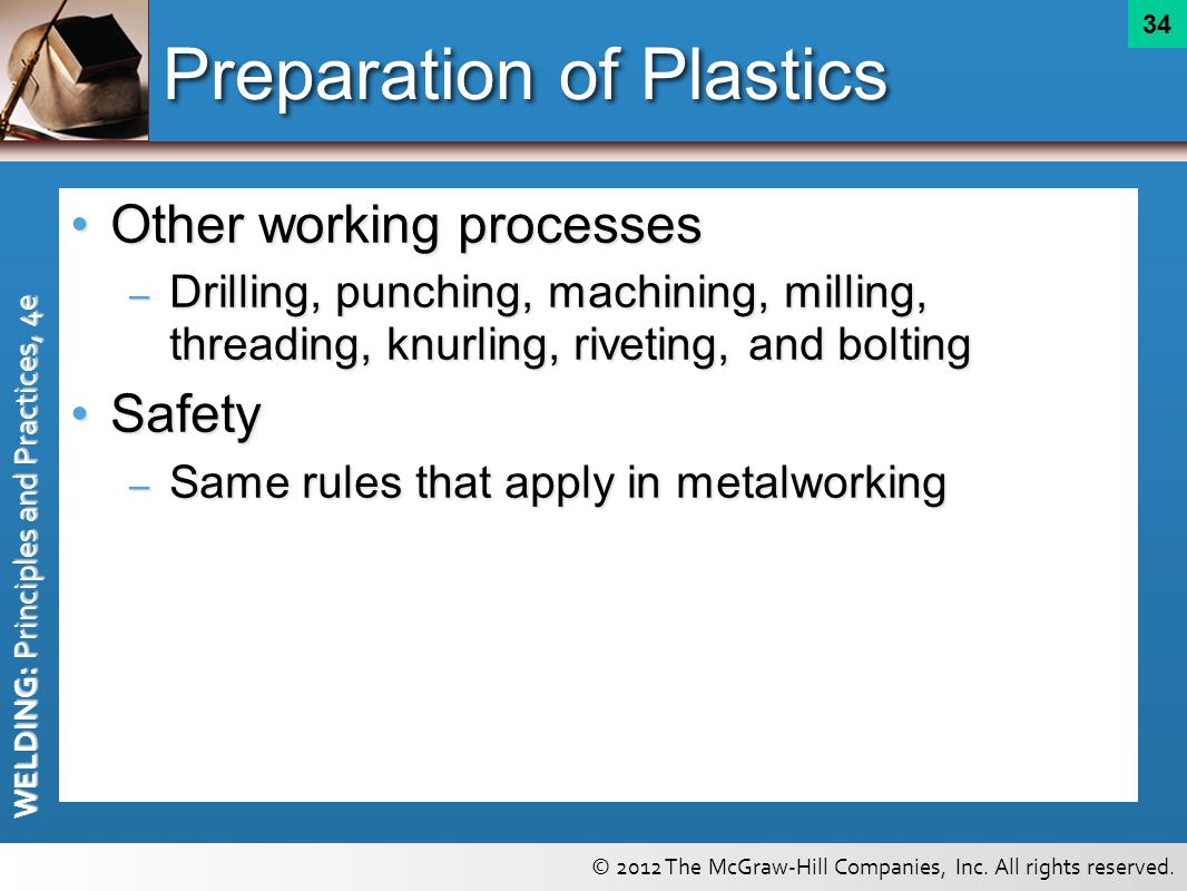 Preparation of Plastics