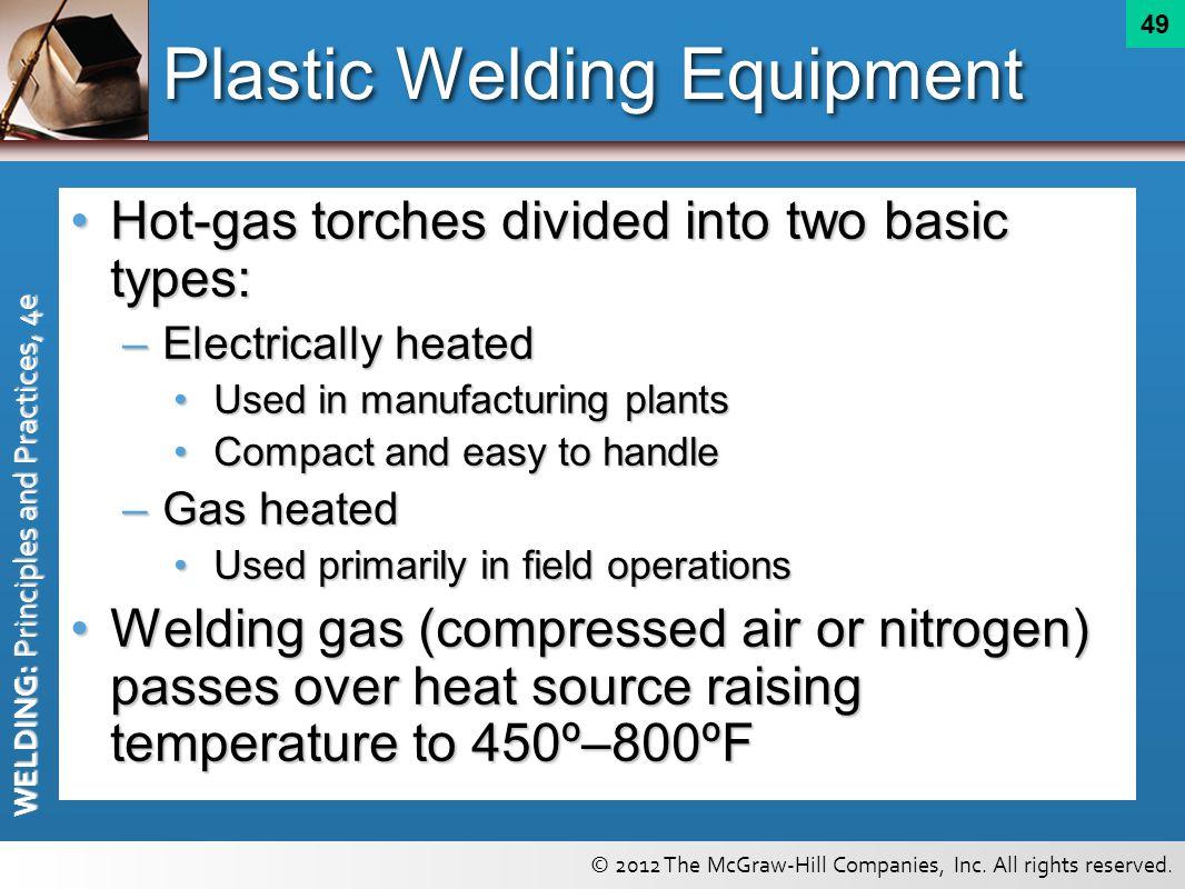 Plastic Welding Equipment