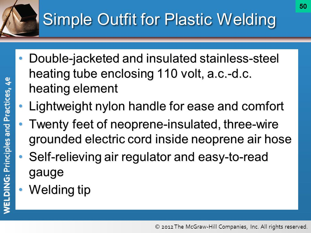 Simple Outfit for Plastic Welding