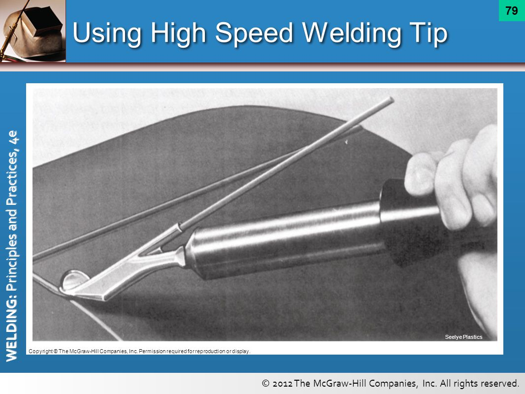 Using High Speed Welding Tip