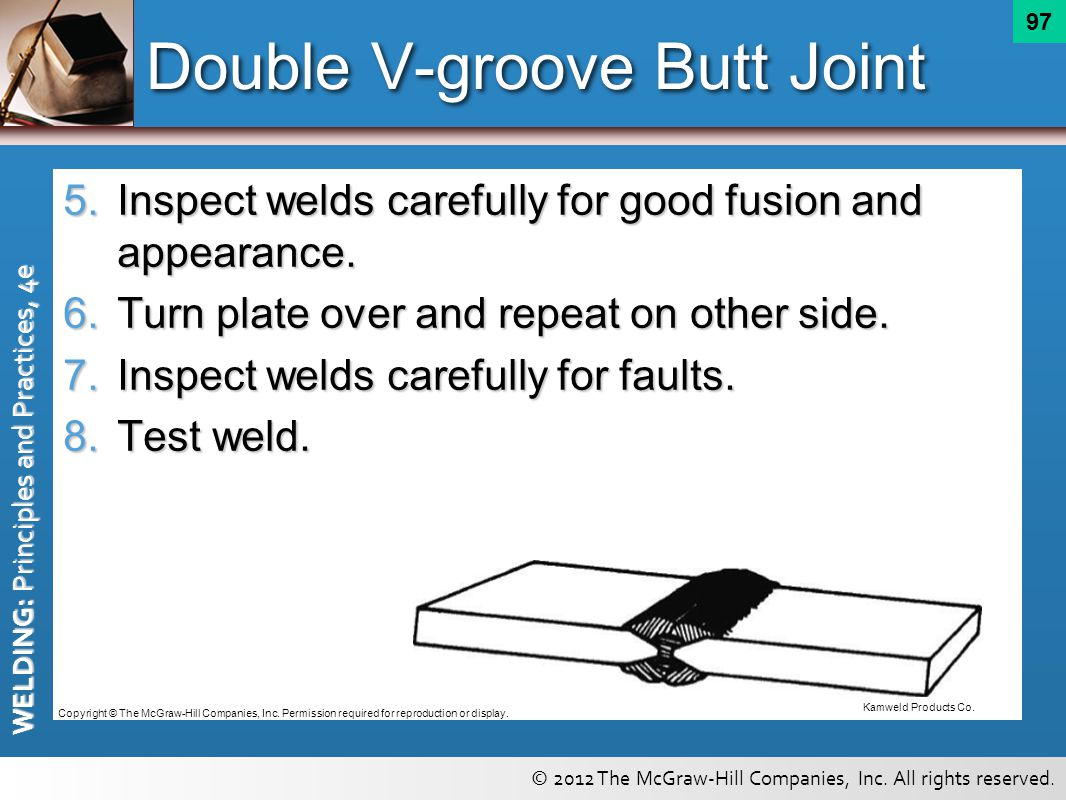 Double V-groove Butt Joint