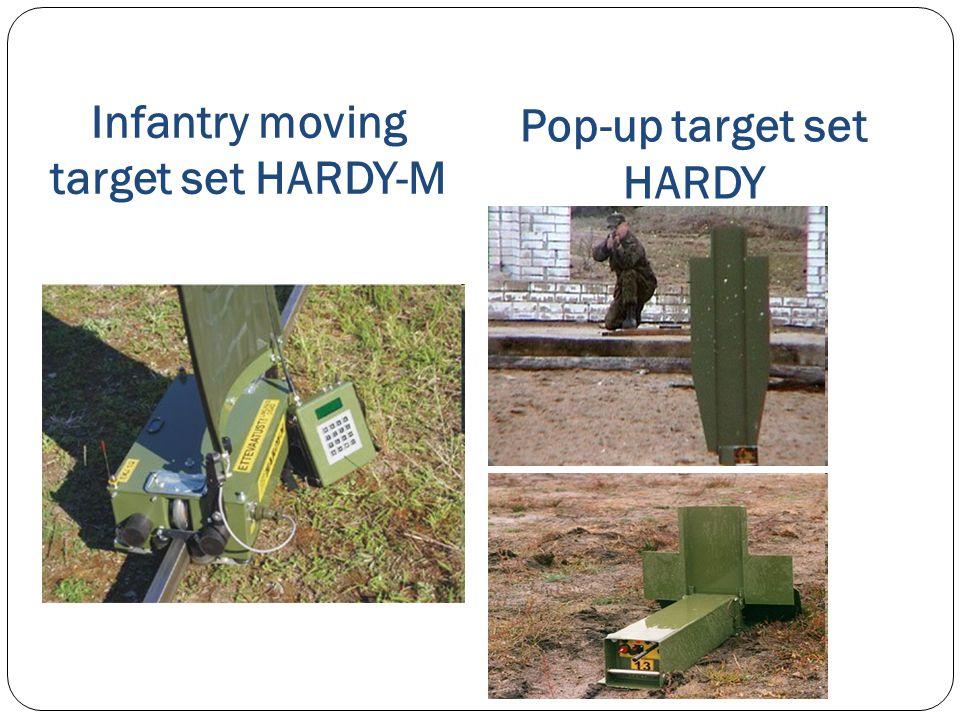Infantry moving target set HARDY-M