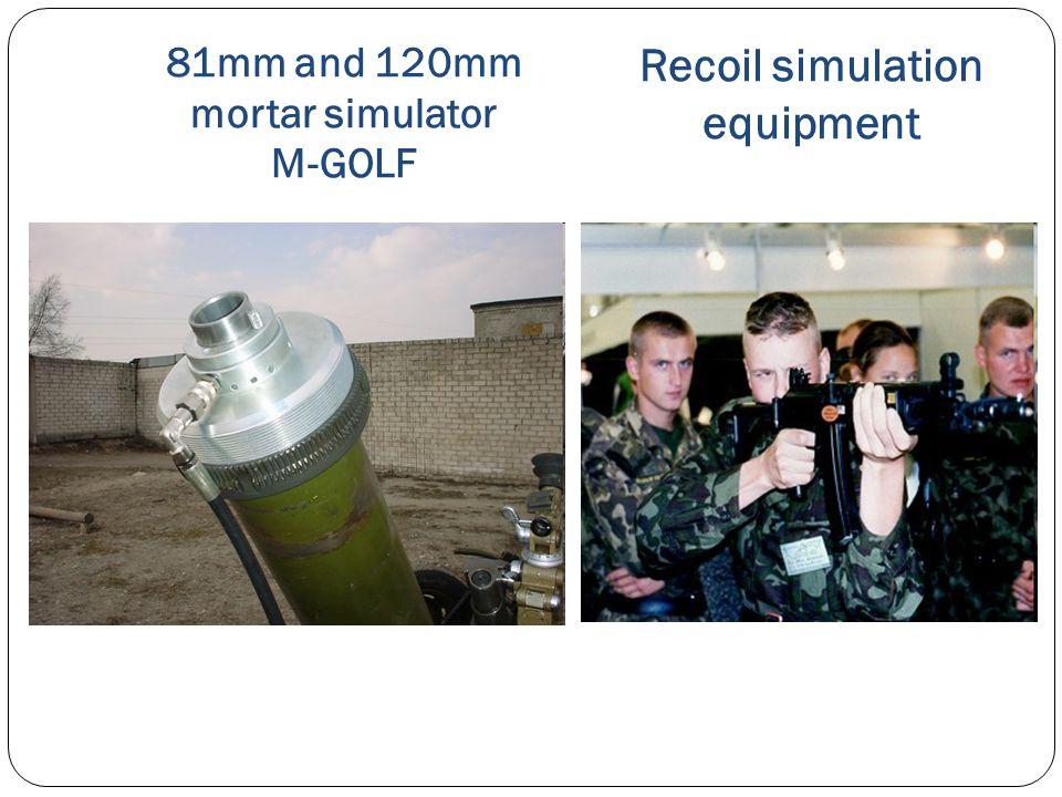 81mm and 120mm mortar simulator M-GOLF