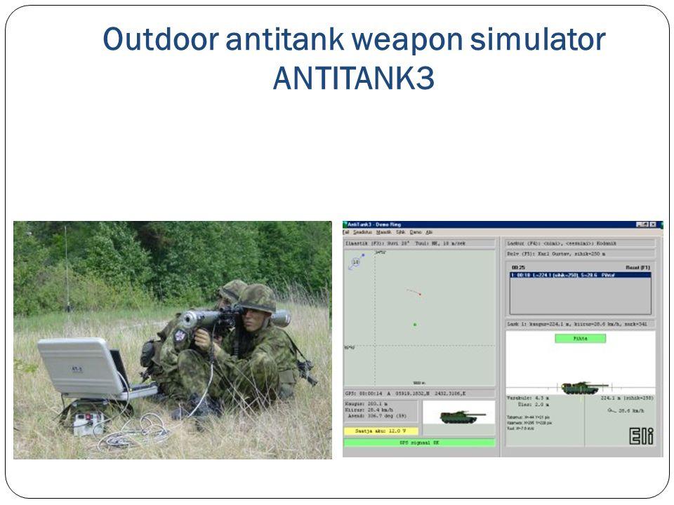 Outdoor antitank weapon simulator ANTITANK3