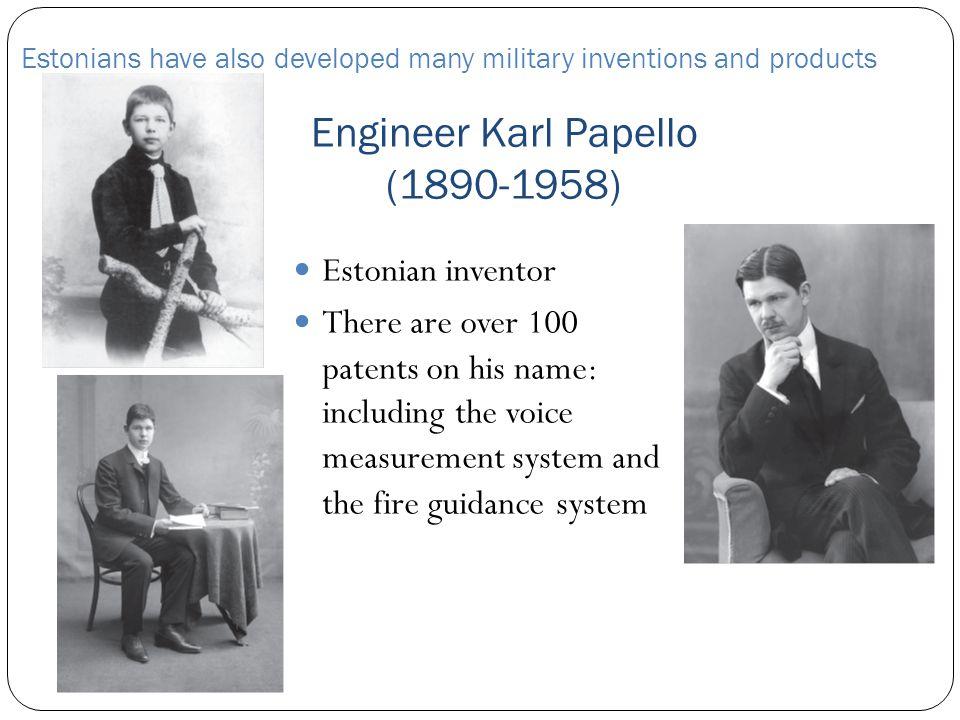 Engineer Karl Papello (1890-1958)
