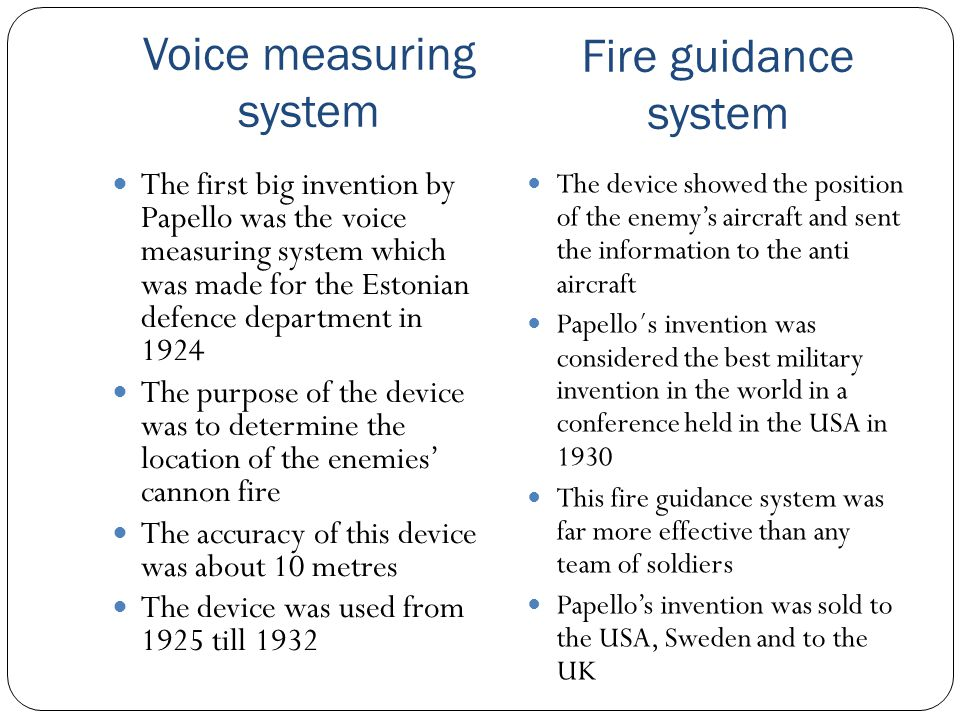 Voice measuring system
