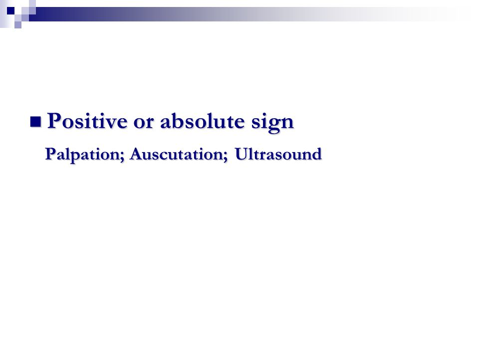 Positive or absolute sign