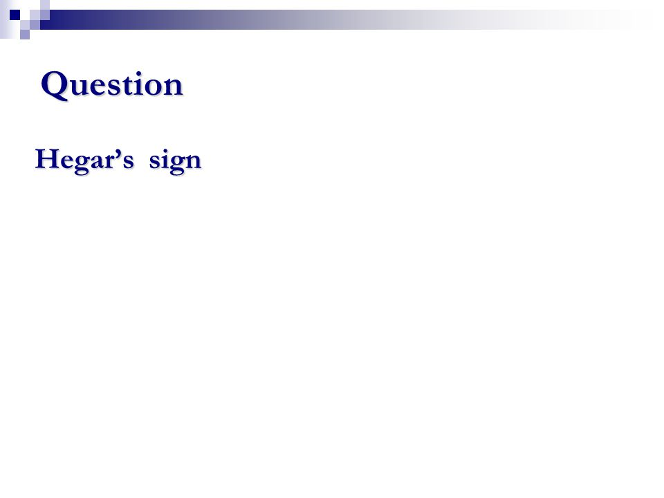 Hegar's sign Question