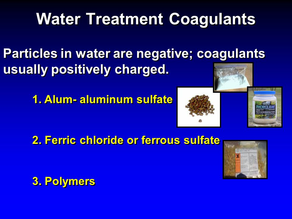 Water Treatment Coagulants