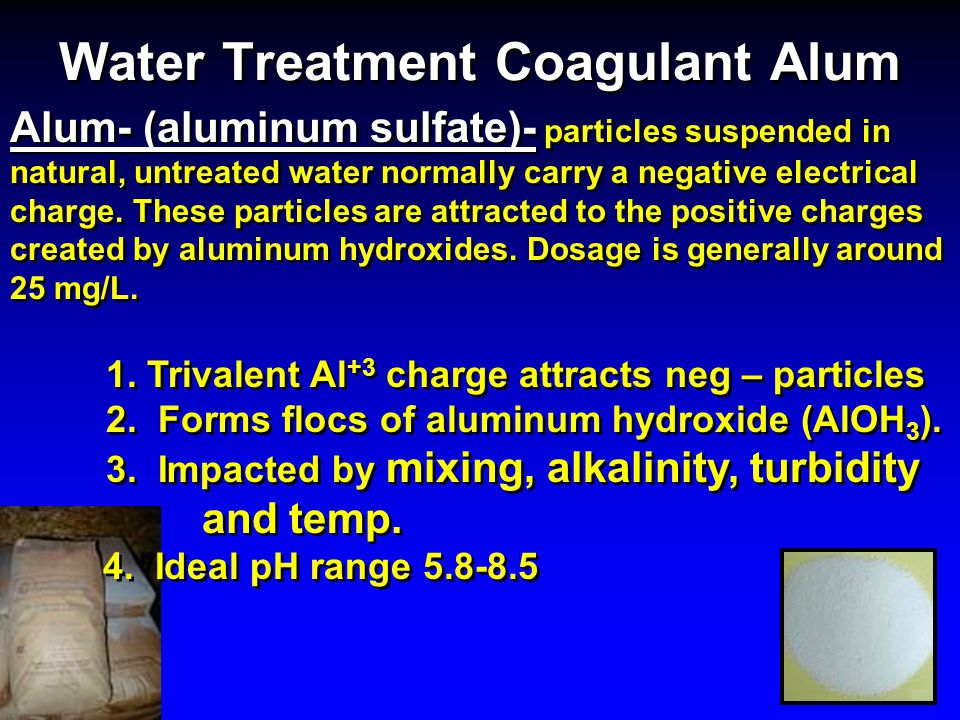 Water Treatment Coagulant Alum