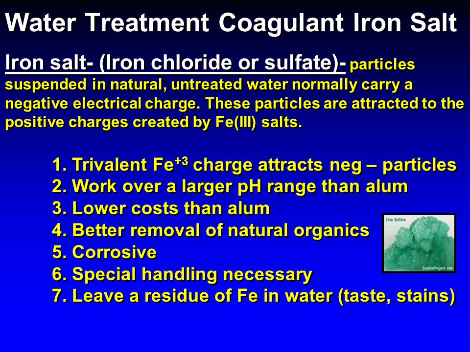 Water Treatment Coagulant Iron Salt