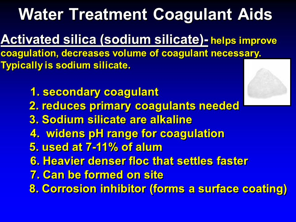 Water Treatment Coagulant Aids
