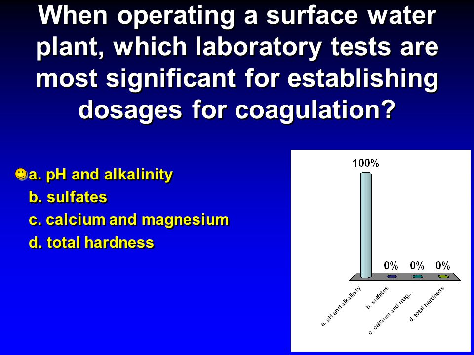 When operating a surface water plant, which laboratory tests are most significant for establishing dosages for coagulation