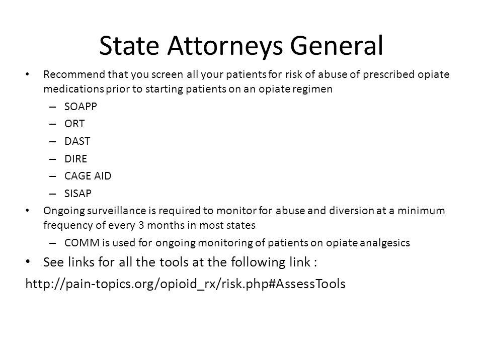State Attorneys General
