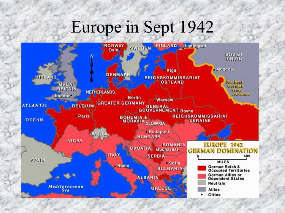 Europe in Sept 1942