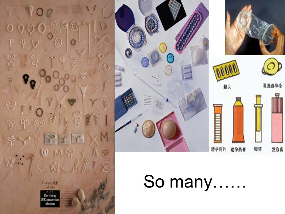 So many…… Different shapes and different materials, plastic, metal.