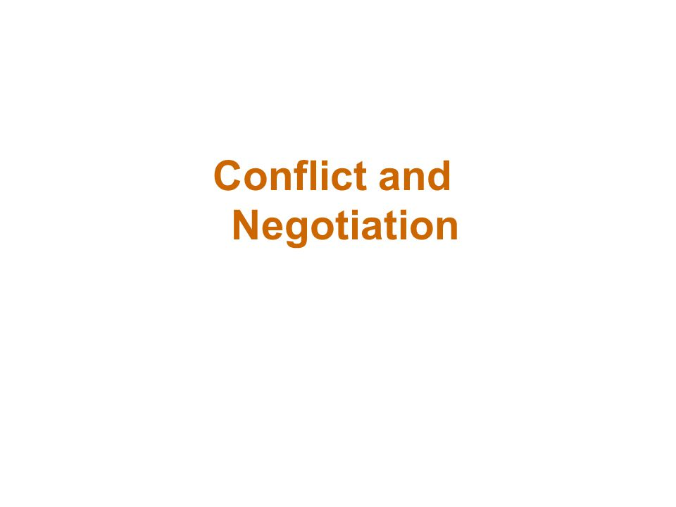 Negotiation Negotiation BATNA