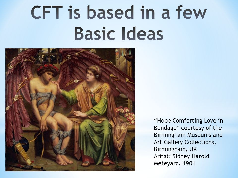 CFT is based in a few Basic Ideas