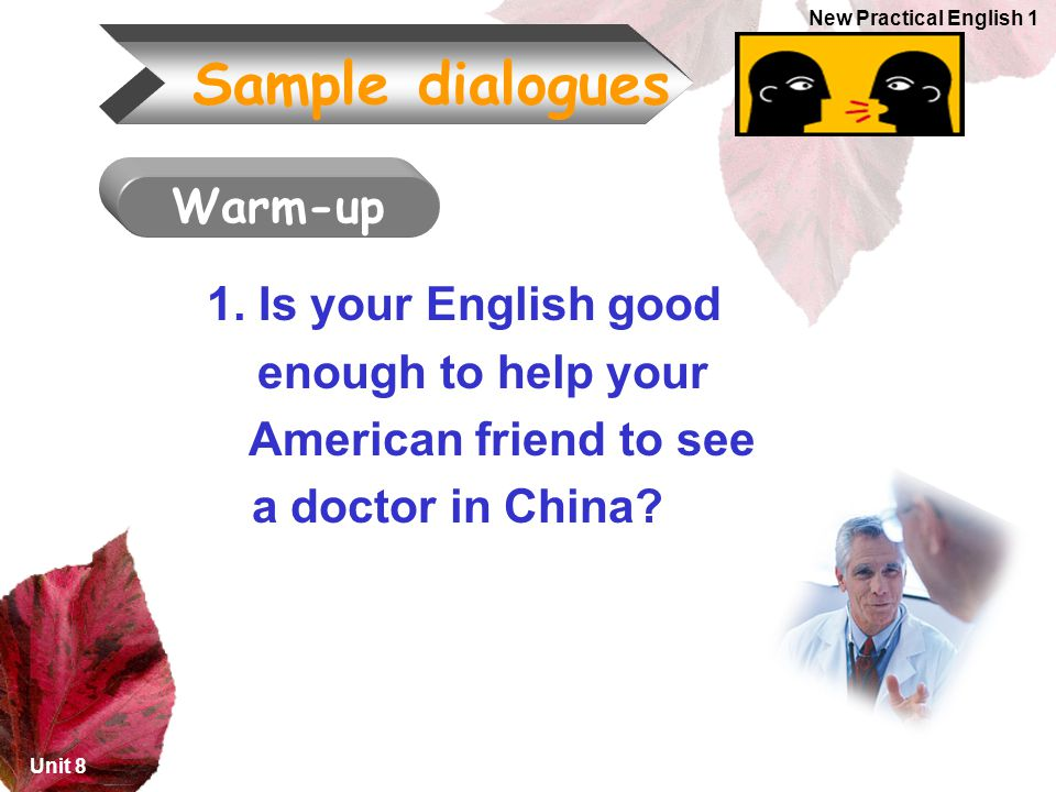 American friend to see a doctor in China