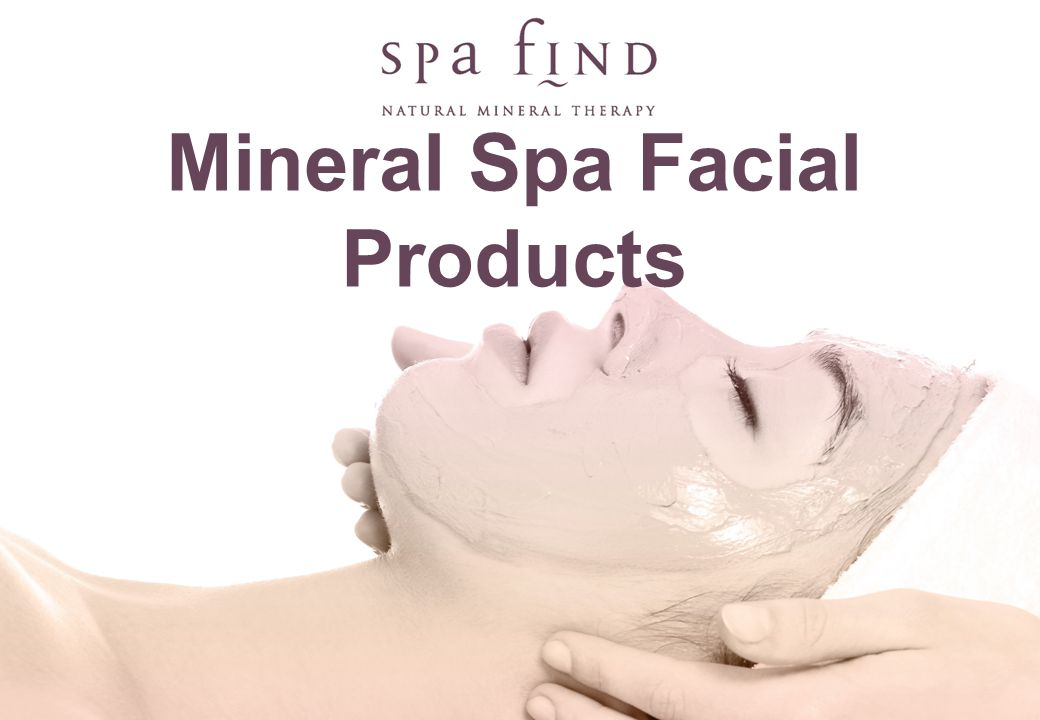 Mineral Spa Facial Products