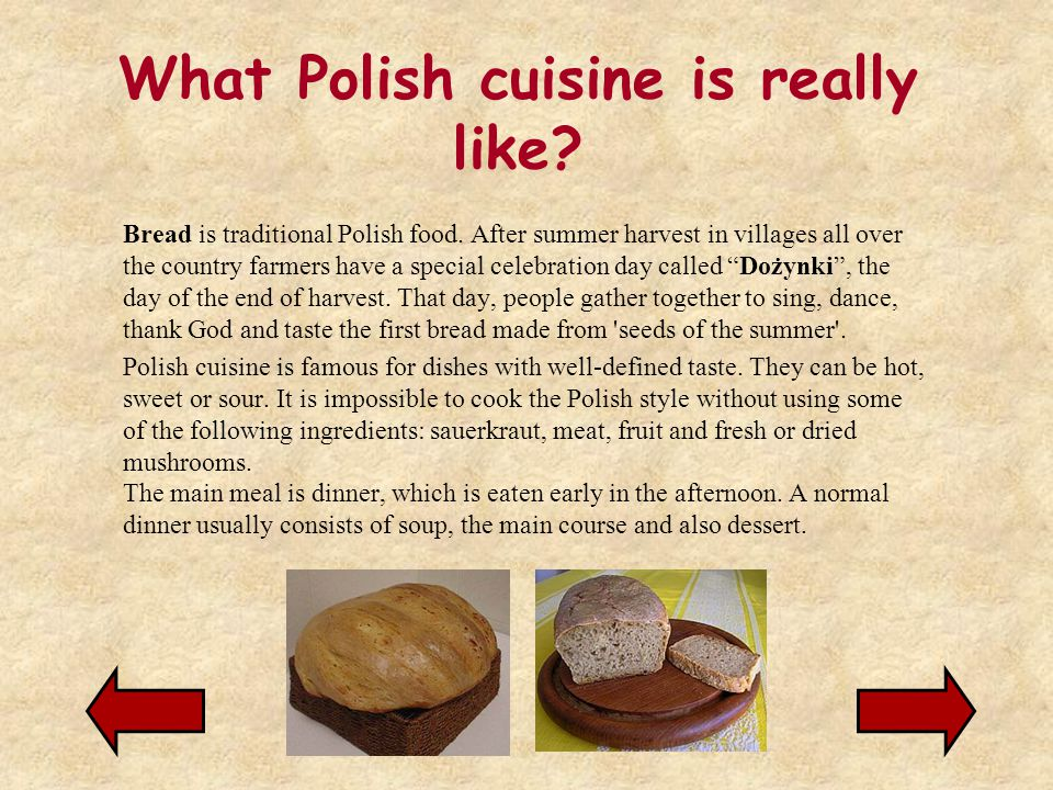 What Polish cuisine is really like