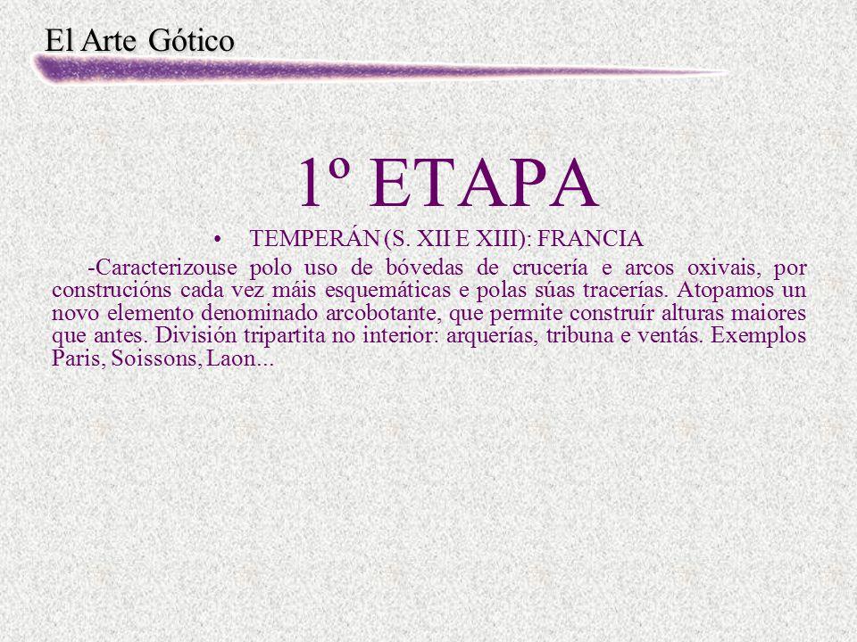 TEMPERÁN (S. XII E XIII): FRANCIA
