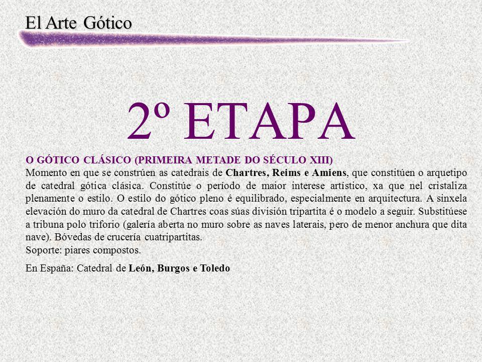 2º ETAPA O GÓTICO CLÁSICO (PRIMEIRA METADE DO SÉCULO XIII)
