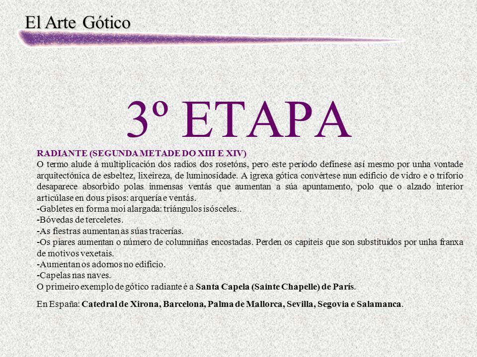 3º ETAPA RADIANTE (SEGUNDA METADE DO XIII E XIV)