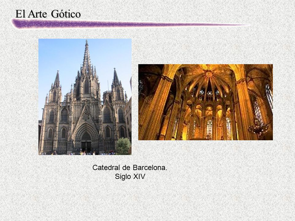 Catedral de Barcelona. Siglo XIV