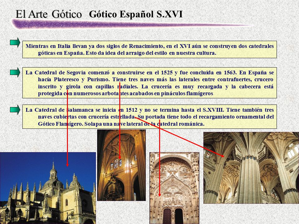 Gótico Español S.XVI