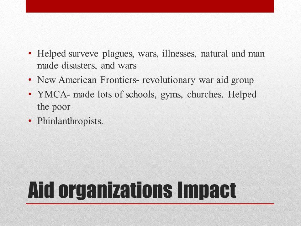 Aid organizations Impact