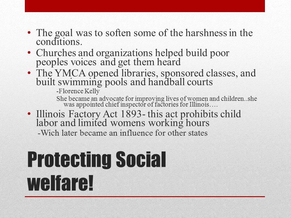 Protecting Social welfare!