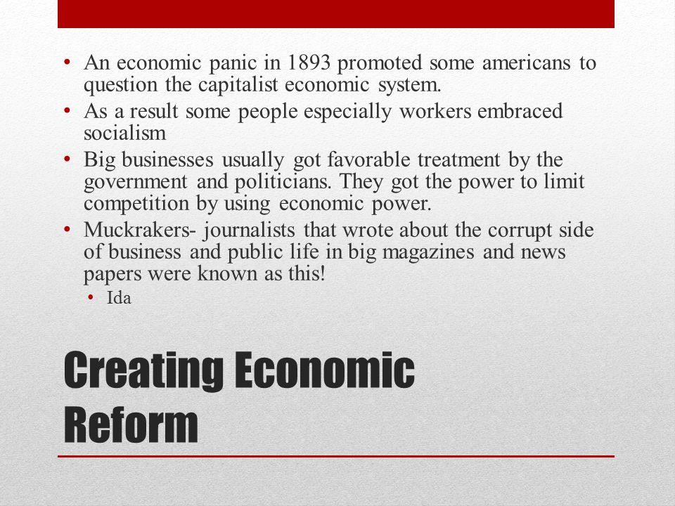Creating Economic Reform