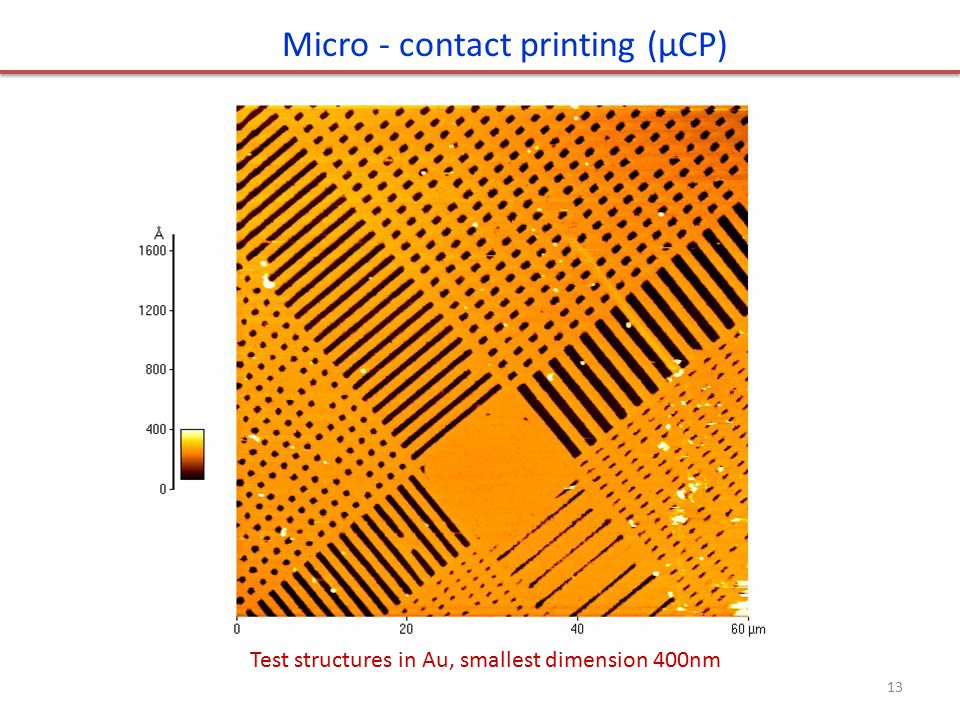 Micro - contact printing (μCP)