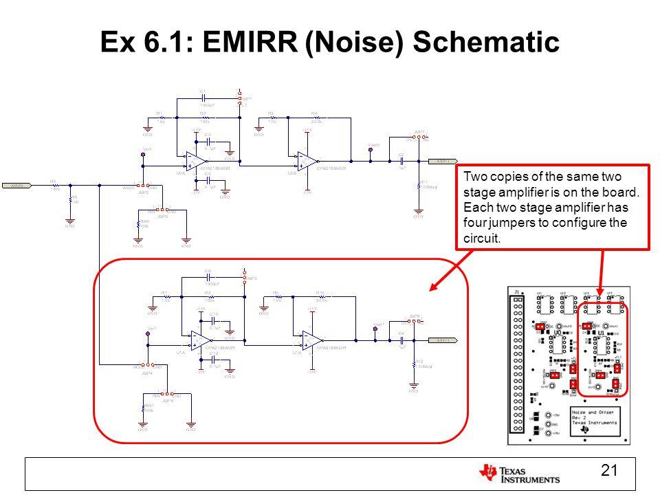 Ex 6.1: EMIRR (Noise) Schematic