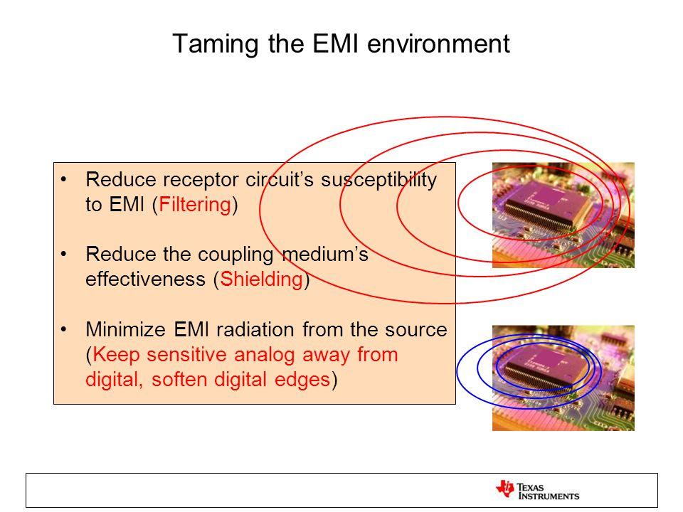 Taming the EMI environment