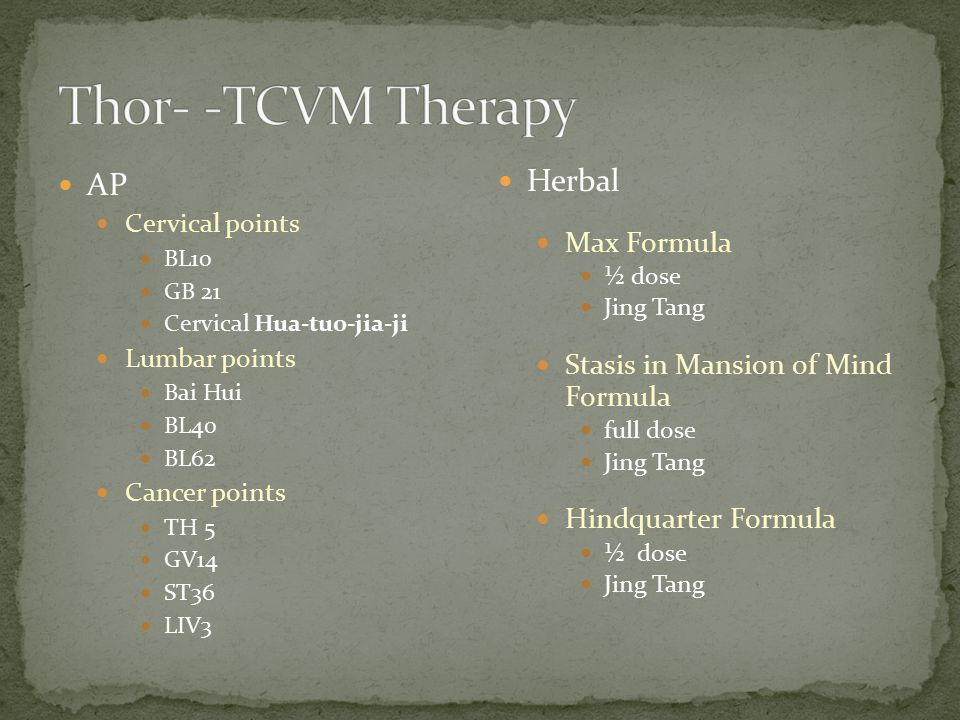 Thor- -TCVM Therapy AP Herbal Max Formula