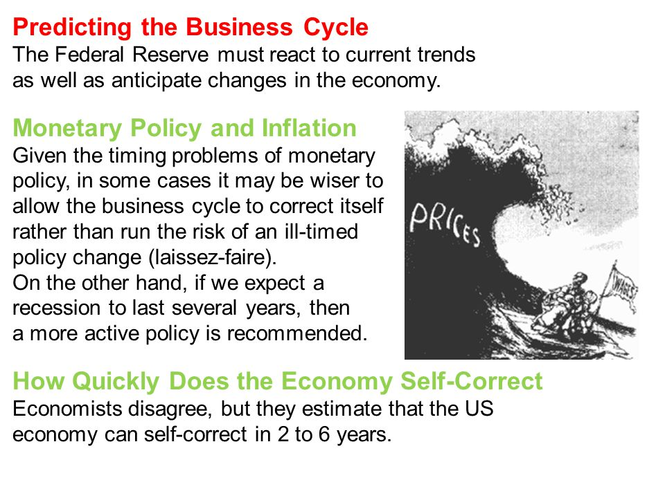 Predicting the Business Cycle
