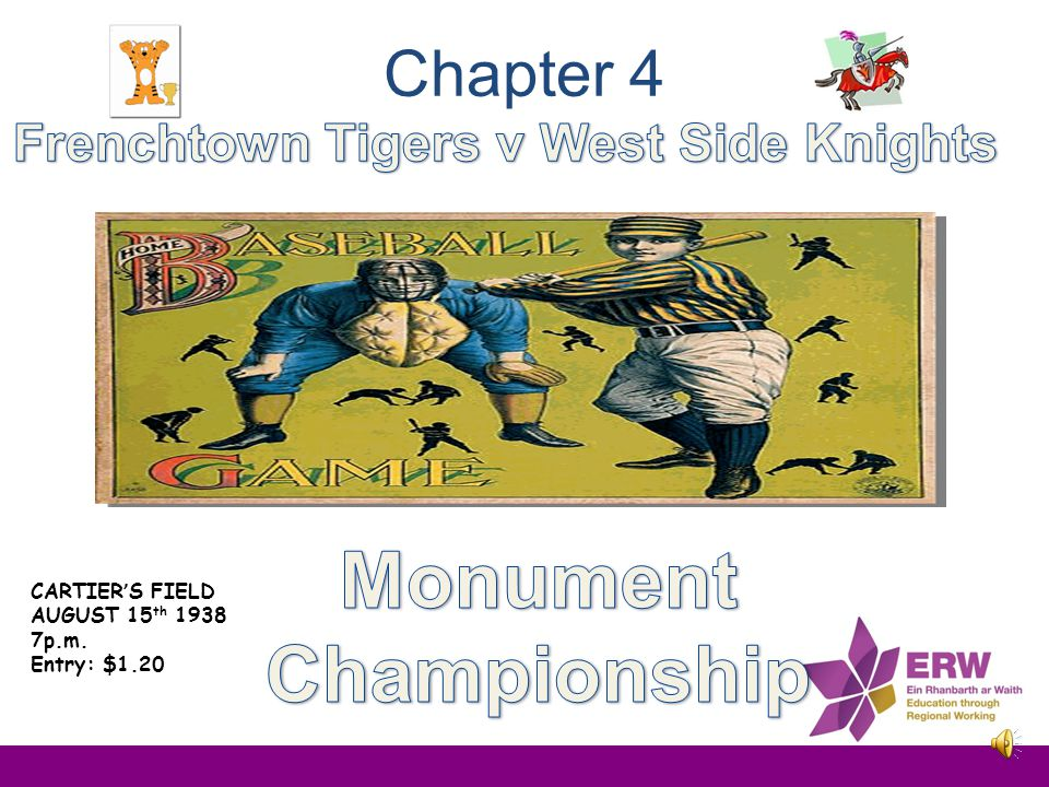 Frenchtown Tigers v West Side Knights Monument Championship