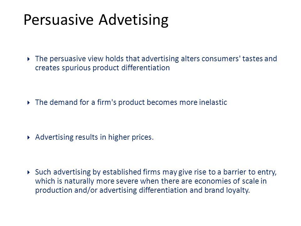 Persuasive Advetising