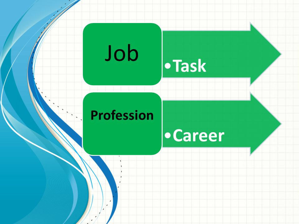 Job Task Career Profession