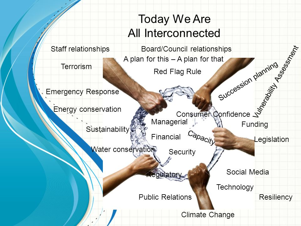 Today We Are All Interconnected Staff relationships