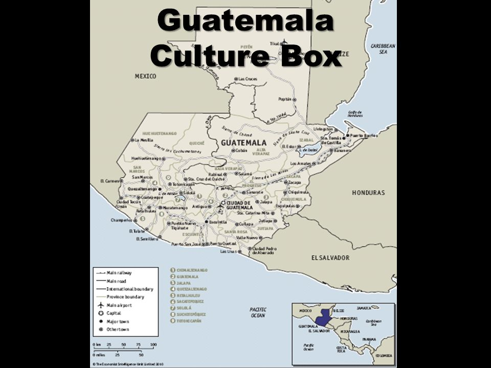 Guatemala Culture Box