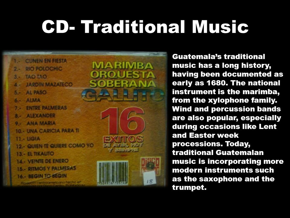 CD- Traditional Music