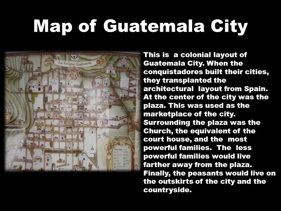 Map of Guatemala City