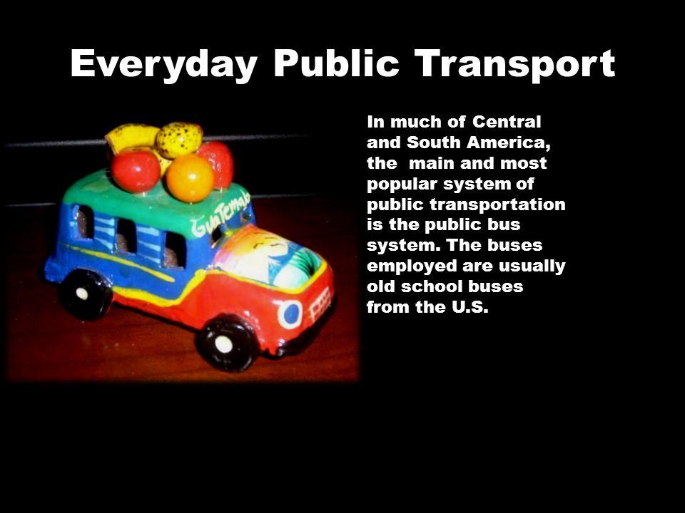 Everyday Public Transport