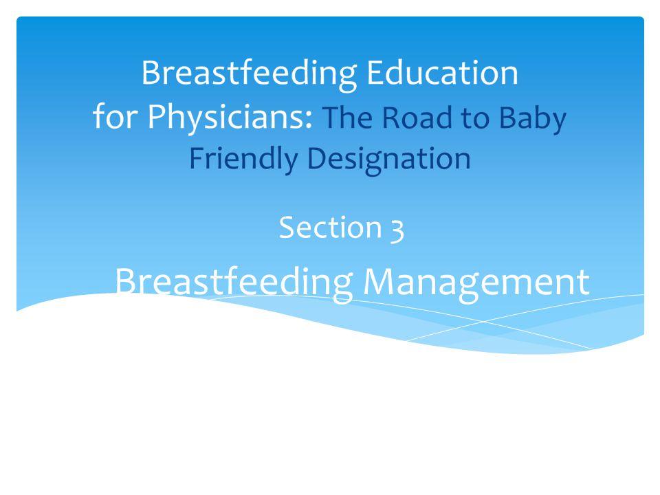 Breastfeeding Management