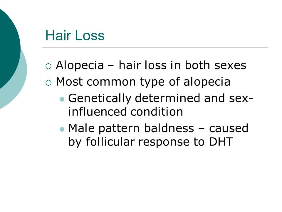 Hair Loss Alopecia – hair loss in both sexes