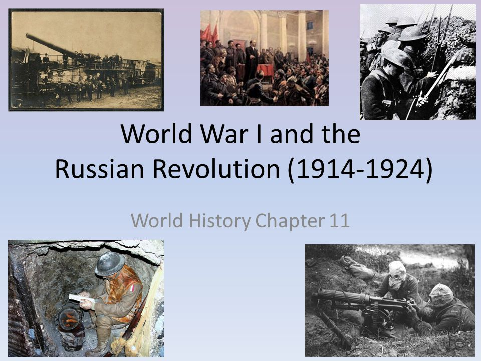 World War I and the Russian Revolution (1914-1924)