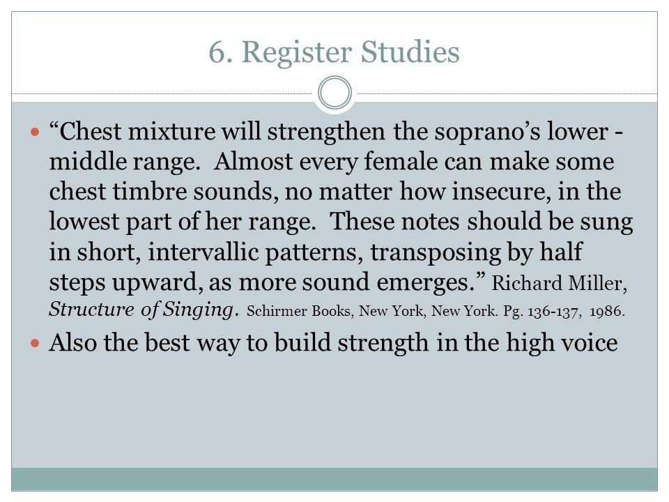 6. Register Studies